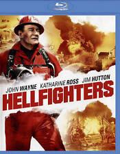 DVD: Hellfighters [Blu-ray], Andrew V. McLaglen. Good Cond.: John Wayne, Kathari