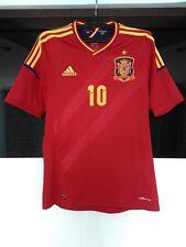 Spain national team 2012 - 2013 home football shirt jersey # 10 Cesc Fabregas