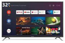 """TELEVISORE SMART TV ANDROID 32"""" SHARP Aquos 32BI2E HARMAN KARDON HDMI DVB-T2/S2"""