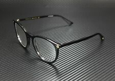 GUCCI GG0027O 001 Round Oval Black Demo Lens 50 mm Women's Eyeglasses