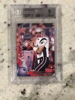🔥 2000 Leaf Rookies & Stars #134 Tom Brady (R) Rookie Card RC BGS 9 9.5 R&S SSP