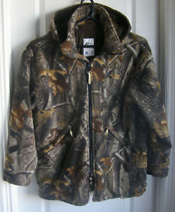 Raven Wear -  SIZE Large/XLarge  3/4 LENGTH HUNTING JACKET W/DETACHABLE HOOD