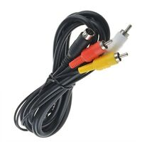 6ft 9pin A/V Connection Cable Cord Lead for Sega Genesis 2 & 3 AV Audio Video