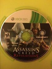 Assassin's Creed: Revelations (Microsoft Xbox 360, 2011) USED w/ Box, No Cover