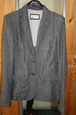ESPRIT Buisness LeinenBlazer Gr.36 MARINE Jeans JLO Style NEU NP 99,95 e