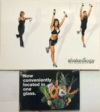 Beachbody Shakeology Workout Dvd set with Booklet