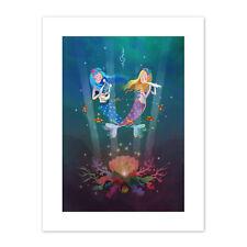 Mermaids Kids Music Canvas Art Print