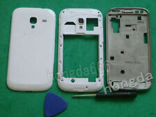 Housing Middle Frame +Front +Battery Cover For Samsung Galaxy Ace 2 i8160 white