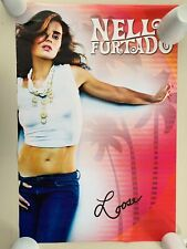 NELLY FURTADO,LOOSE, RARE LICENSED 2007 POSTER