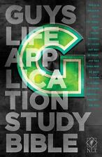 NLT Guys Life Application Study Bible (2013, Hardcover)