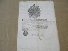 DICHIARAZIONE 1674 DEL CAPOGUARDIA DEL CASTELLO DELLA MARINA DI S. CATALDO-LECCE