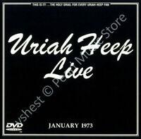 URIAH HEEP LIVE JANUARY 1973 / THE BYRON ERA CD + DVD (PAL) + bonus tracks new