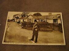 Photochrom postcard - registrar R Rennison - Gretna Green