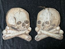 Obiits Rouwborden - Memento Mori voor Katafalk - Folk-Art - Tête de Mort - Death