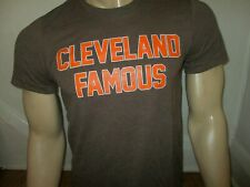Browns Fan CLEVELAND FAMOUS T SHIRT Ohio 216 Dawg Pride Football NEW S M L XL