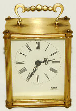 "SMITHS ASTRAL - Gold - 4"" - Battery Powered Clock - Vintage!"