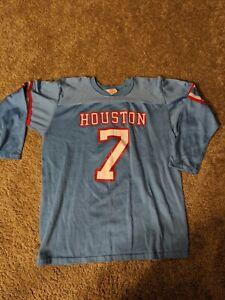 🔥Throwback 1979 Houston Oilers DAN PASTORINI Rawlings Jersey Youth XL