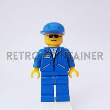 LEGO Minifigures - 1x tel004 - Man - Jacket Town Omino Minifig 2774 6484 2148