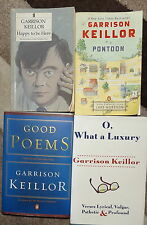 Garrison Keillor Collection Good Poems Pontoon Happy to Be Here O What a Luxury