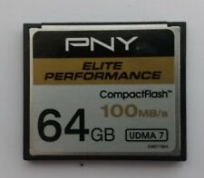 PNY 64 GB Compact Flash Memory Card 100 MB/S for camera