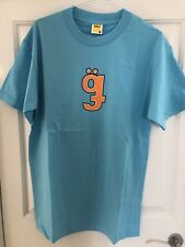 GOLF Wang Puzzle Tee Shirt Pacific Blue Taglia Media Nuovo Con Etichetta