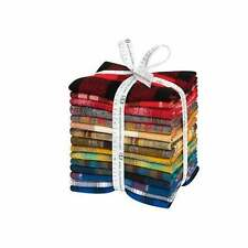 Mammoth Flannel Rainbow, Fat Quarter Bundle, 15pc, Quilting Fabric, FQ-1677-15