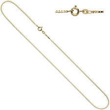 Venetian Chain 585 YELLOW GOLD 1,5 mm 42 cm Gold Necklace Bolt Ring