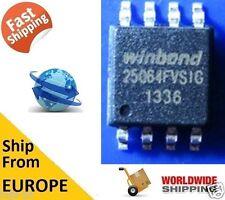 WINDBOND W25Q64FVSIG 25Q64, 64M-BIT FLASH 8M X 8 SPI BUS SERIAL EEPROM BIOS CHIP