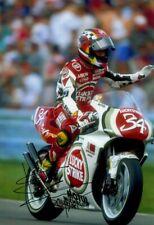 Kevin DAVANTI LUCKY STRIKE SUZUKI GRAND PRIX STAGIONE 1995 firmato fotografia 1