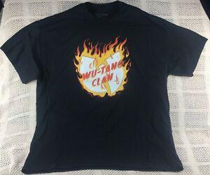 Wu-Tang Clan Hip Hop Band Men's T-Shirt NWT Size 2XL, 3XL