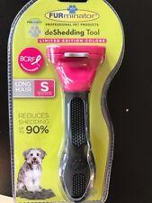 """~NEW~ ORIGINAL FURminator deShedding Tool for small dog..1.75"""" EDGE LONG HAIR"""