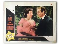 """LONE STAR"" ORIGINAL 11X14 AUTHENTIC LOBBY CARD PHOTO POSTER 1951 GABLE GARDNER"