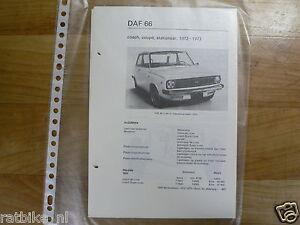 DA10-DAF  66 COACH, COUPE, STATIONCAR  1972-1973 EINDE