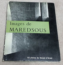 Images de Maredsous, photos de Roland D'Urcel, texte de la règle de saint Benoît