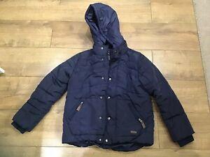 Boys Navy Blue Jasper Conran Coat Size 9-10 Years