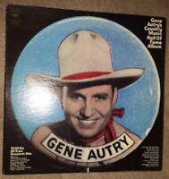 Gene Autry's Country Music Hall Of Fame Vinyl Record Album