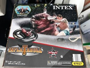 Intex PBR Inflatabull Bull-Riding Giant Inflatable Swimming Pool Lake Fun Float