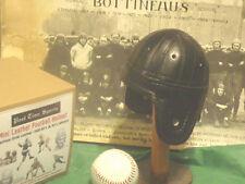 1940 Black Chicago Bears Mini  style  1/3 scale  Leather Football Helmet