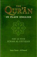 The Holy Qur'an in Plain English: Part 30 -PB