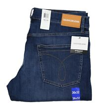 New Calvin Klein Men's Straight Fit Jeans All Sizes Mid Denim Color