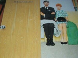 """Unpublished Illustration """"MARRIAGE COUNSELOR"""" Domestic Violence Norman Rockwell"""