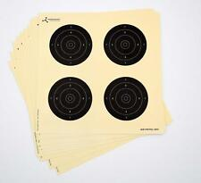 "25 x 6.7"" Square Air Rifle Shooting Practice Card Targets With Printed Circles"