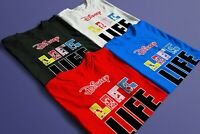 NEW DISNEY LIFE FAMILY VACATION T-SHIRTS ALL SIZES & COLORS