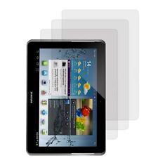 3x Display Schutz Folie für Samsung Galaxy Tab 2 10.1 Matt Entspiegelt Screen