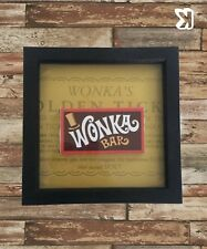 "Willy Wonka Framed Wonka Bar (8""x 8"" boxed frame)"