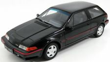 "wonderful modelcar VOLVO 480 TURBO 1989 ""Resin Series"" - black -  1/18 - lim.ed."