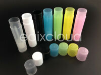 Wholesale Diy 5g Clear Cosmetic lipstick Lip Balm Empty Container Tube Makeup