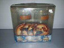 Vandor John Wayne Hondo Glasses and Tin Coasters Set