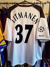 Liverpool Football Shirt 2001/03 Away XL ~ Litmanen 37 Champions League