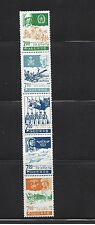 "KOREA  # 614a    MH  VERT. STRIP OF 5   ""20th ANNIV. OF KOREAN ARMED FORCES"""